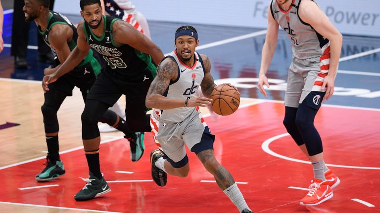Highlights of the Boston Celtics against the Washington Wizards in Week 8 of the NBA.