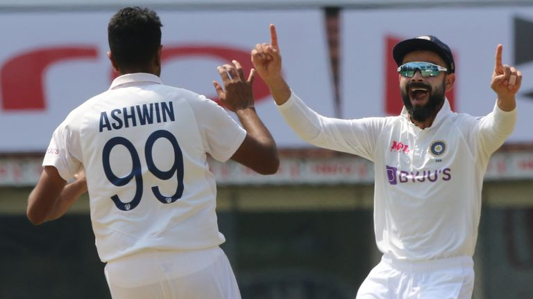 Ravichandran Ashwin took eight wickets and scored a hundred in the second Test (Pic credit - BCCI)