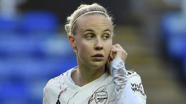 Arsenal's Beth Mead was left out of Riise's first squad