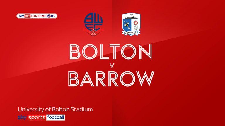 Bolton v Barrow