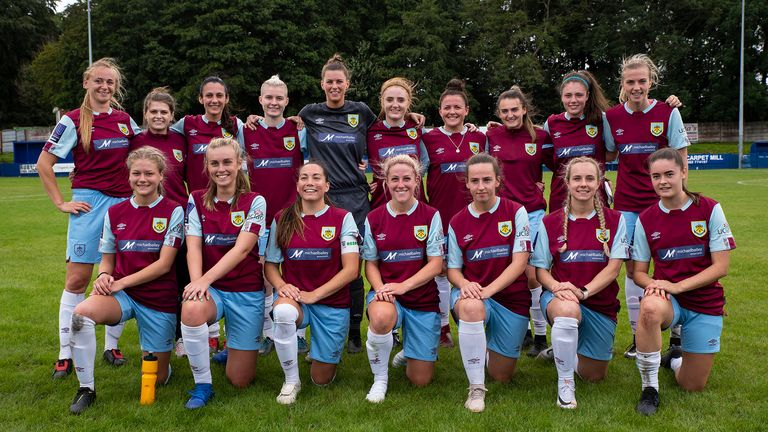 Burnley have announced their women's team is to become fully amalgamated into the club (Picture courtesy of Burnley FC)