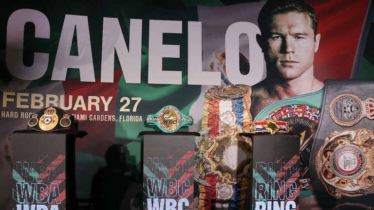 February 25, 2021; Miami, Florida; Final press conference is set ahead of the Matchroom boxing show on February 27, 2021. Mandatory Credit: Melina Pizano/Matchroom.