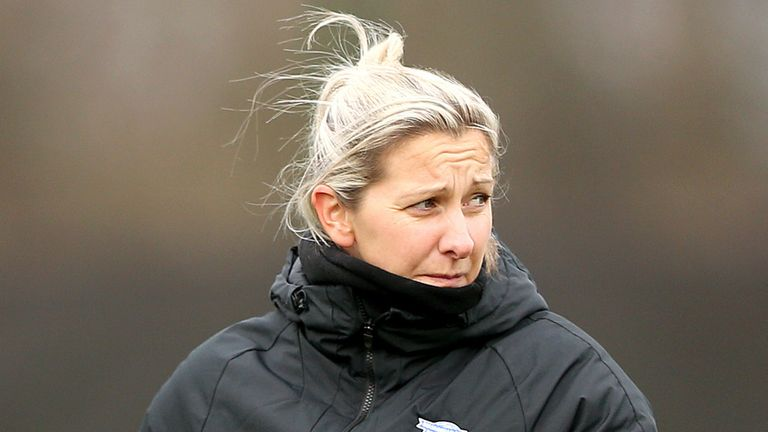 Birmingham City WFC manager Carla Ward