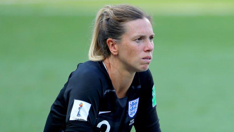 Carly Telford has made 26 appearances for England