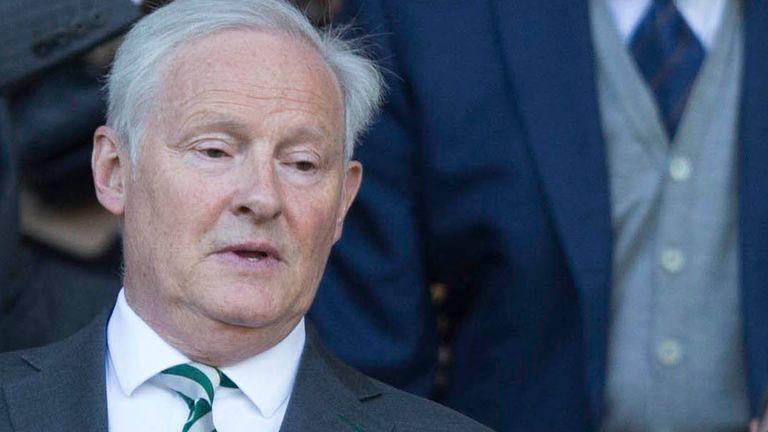 Celtic chairman Ian Bankier (PA image)