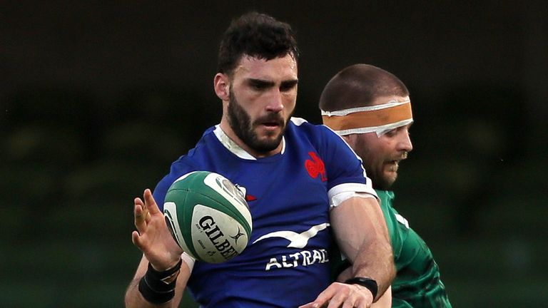 Charles Ollivon was one of five France players to test positive on Sunday