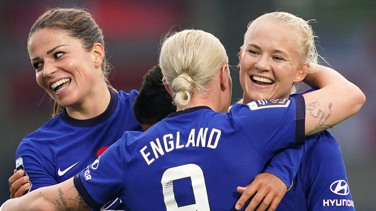 Chelsea have been in stunning form over the past year, going on a record-breaking 33-game unbeaten run and currently sit top of the WSL