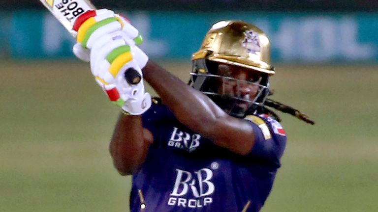 Chris Gayle has fired at times for struggling Quetta Gladiators