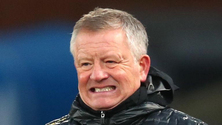 Chris Wilder's Sheffield United are 12 points adrift of safety ahead of Monday's trip to West Ham