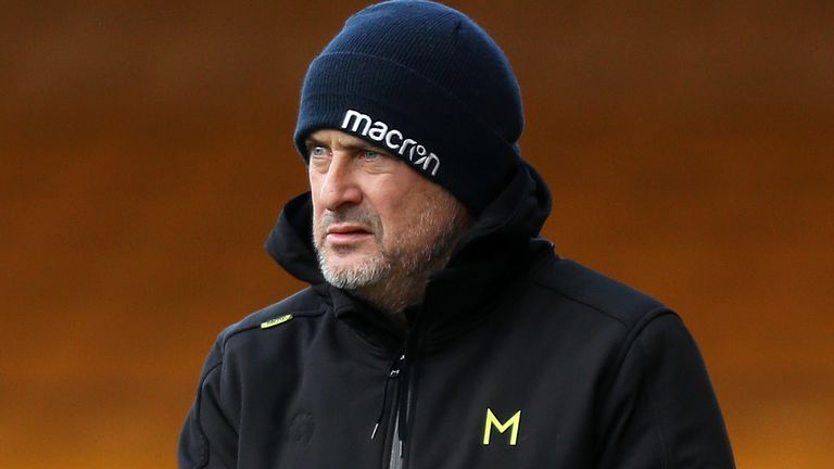 Steve Ball replaced John McGreal as Colchester head coach last July
