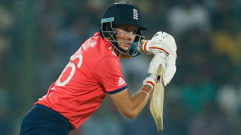 Joe Root was the third-highest run-scorer at the last World T20 tournament in 2016, when England reached the final