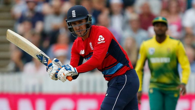 Liam Livingstone featured for England in their T20I series against South Africa in 2017