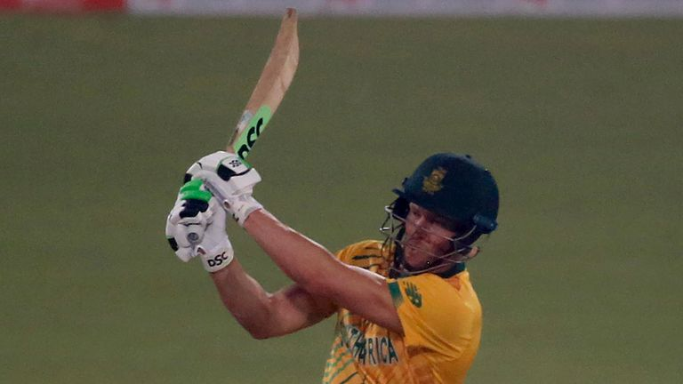 David Miller had given South Africa hope with a stunning undefeated 85