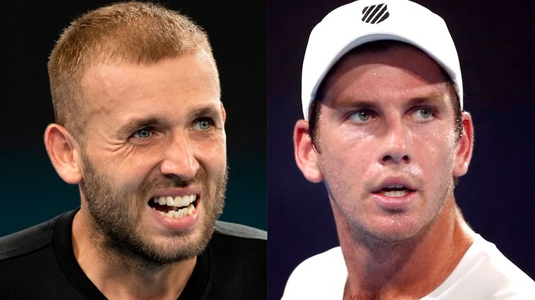 Evans and Cam Norrie will meet in the first round of the Australian Open