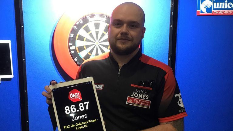 Jake Jones triumphed in the Marshall Arena