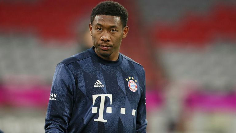 David Alaba has confirmed he will leave Bayern Munich this summer