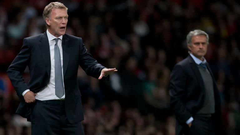 Moyes is still looking for his first win over Mourinho after they first faced off in 2004