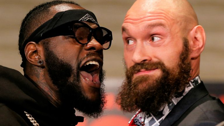 Deontay Wilder has tried to enforce another fight with Tyson Fury