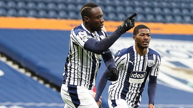 Mbaye Diagne's header gave West Brom an early lead