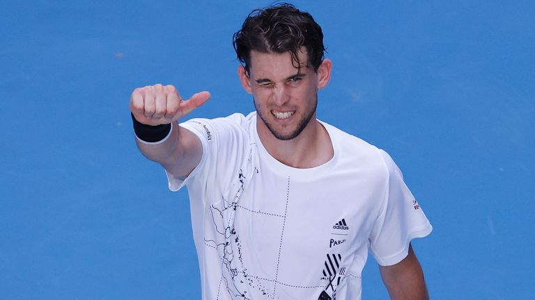 Dominic Thiem is aiming to win back-to-back Grand Slam titles