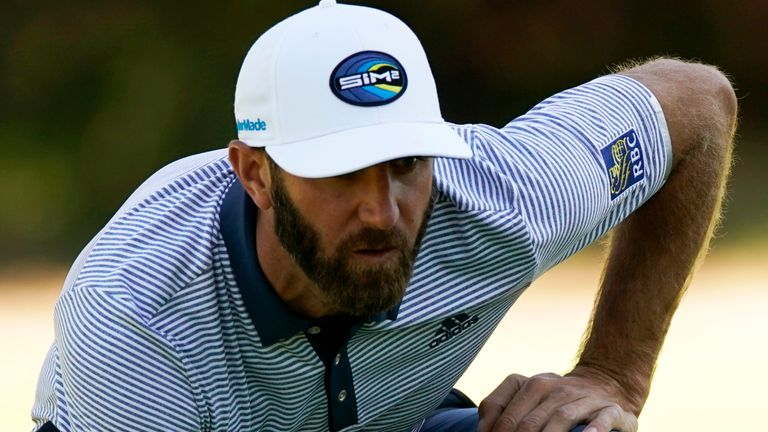 Dustin Johnson heads into the event as world No 1