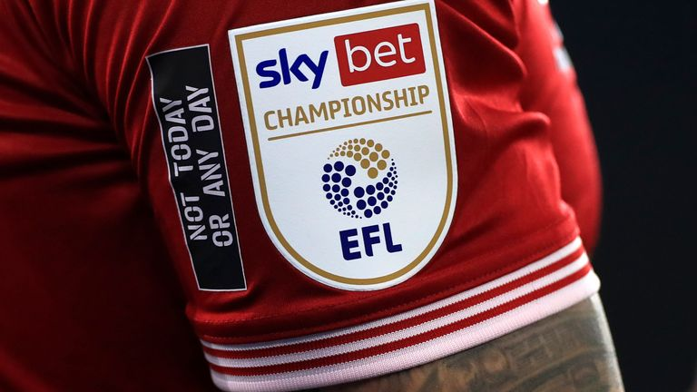 The EFL says it will continue to work with the government on a coronavirus relief package for the Championship