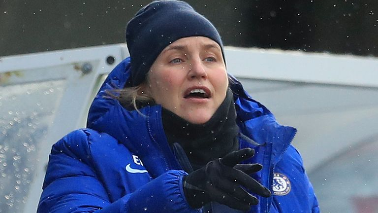 Chelsea Women's manager Emma Hayes (PA image)