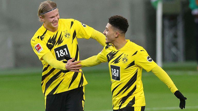 Earling Holland, Jadon Sancho, Borussia Dortmund