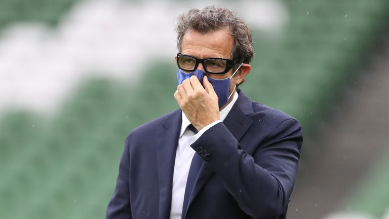 France coach Fabien Galthie was among those who tested positive last week