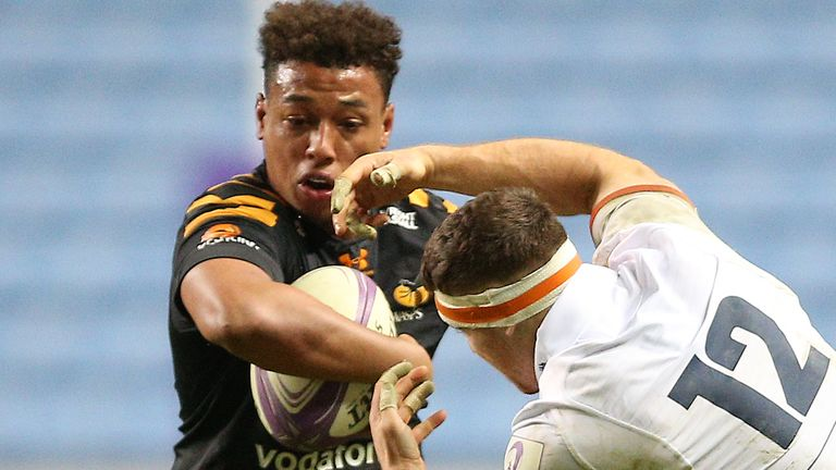 Oghre (left) was ordered by Wasps to undertake 10 hours of community service as part of his punishment from his club
