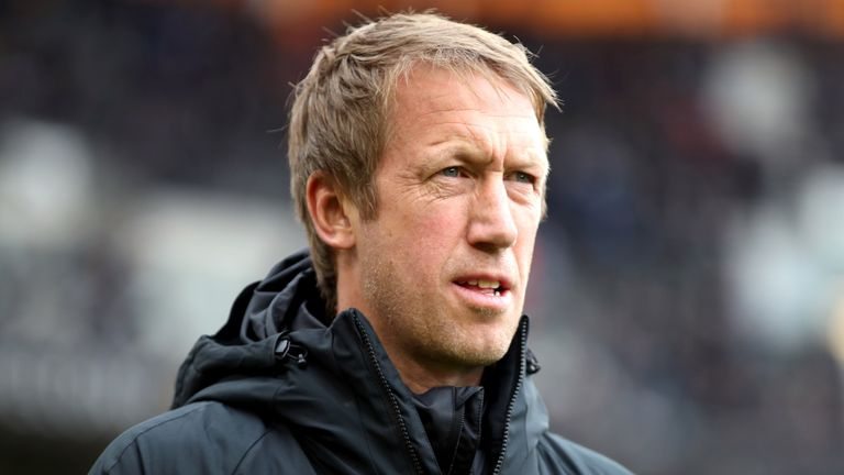 Brighton boss Graham Potter is pleased with the direction his team is going in