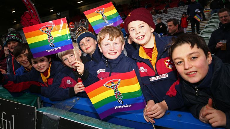 A crowd of over 14,000 - Quins' third-biggest Premiership attendance of the season - saw the hosts take on London Irish