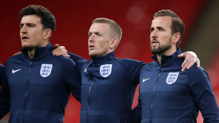 Jordan Pickford remains England No 1 but competition remains fierce