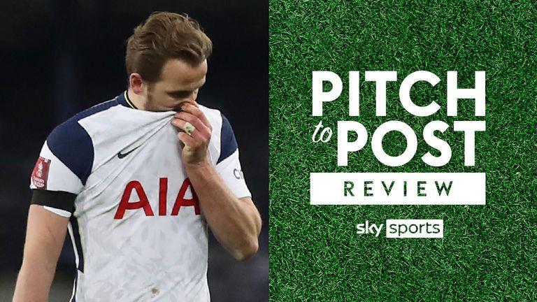 Harry Kane Tottenham Pitch to Post