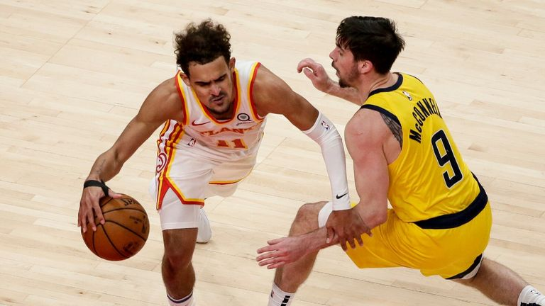 NBA: Hawks v Pacers