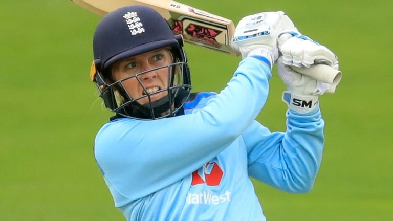 England Women's captain Heather Knight has pledged her support to the charity