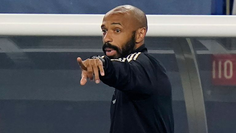 Thierry Henry is currently manager of MLS side CF Montreal