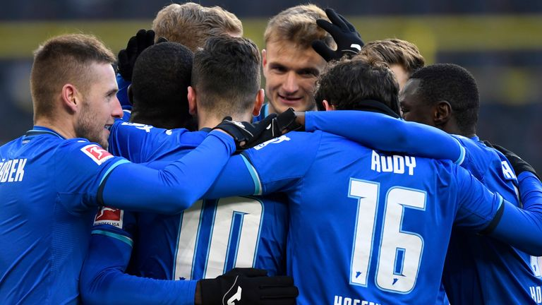 Hoffenheim drew 2-2 with Dortmund in the Bundesliga