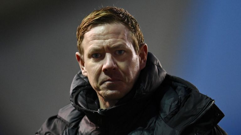 Dean Holden took charge of Bristol City in August 2020