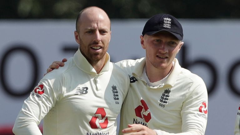 Jack Leach and Dom Bess will be integral to England's hopes on day five in Chennai (Pic credit - BCCI)