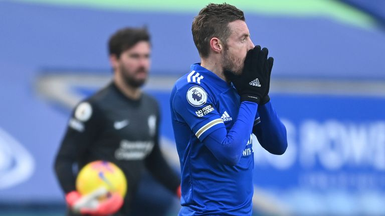 Leicester 3 1 Liverpool Alisson Blunders Again As Foxes Score Three Goals In Seven Minutes To Go Second Football News Sky Sports