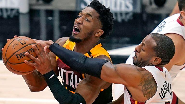 NBA: Jazz v Heat