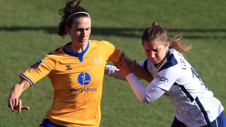 Jill Scott was on the scoresheet in Everton's win