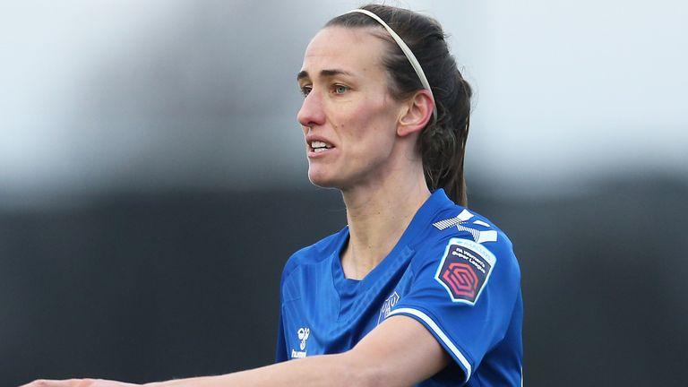 Jill Scott in action for Everton