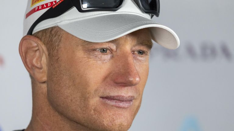 Jimmy Spithill remains confident in Luna Rossa Prada Pirelli's abilities (Image Credit - COR 36 | Studio Borlenghi)