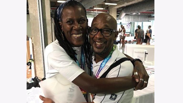 Joanie Evans, Aslie Pitter, Gay Games 2018