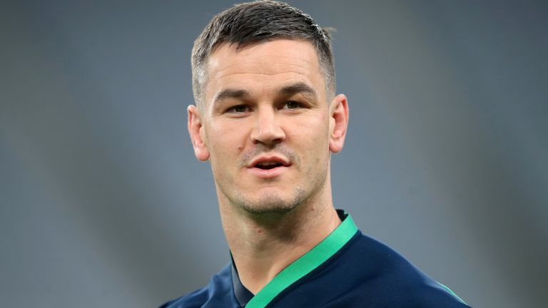 Johnny Sexton is fit enough after his hamstring complaint to start and captain Ireland