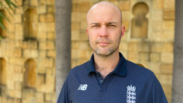 Former Test batsman Jonathan Trott is currently England's batting consultant. Pic: England Cricket