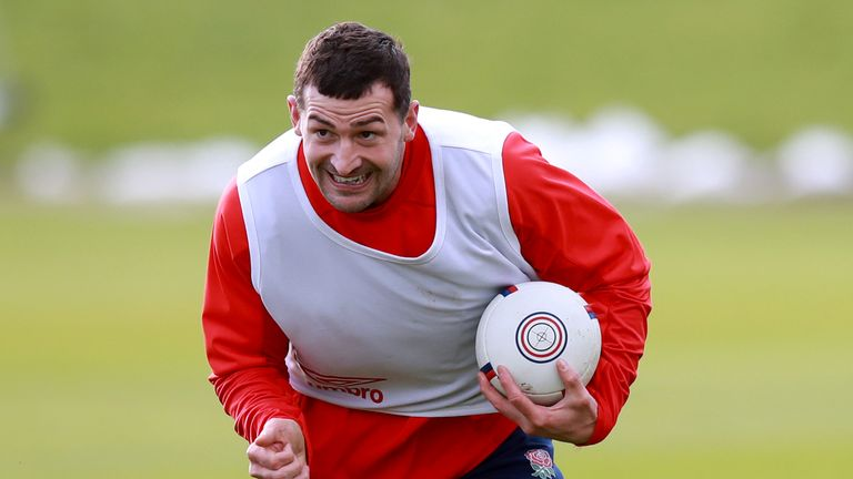 Jonny May is focussing on himself and his team mates ahead of their Scotland clash