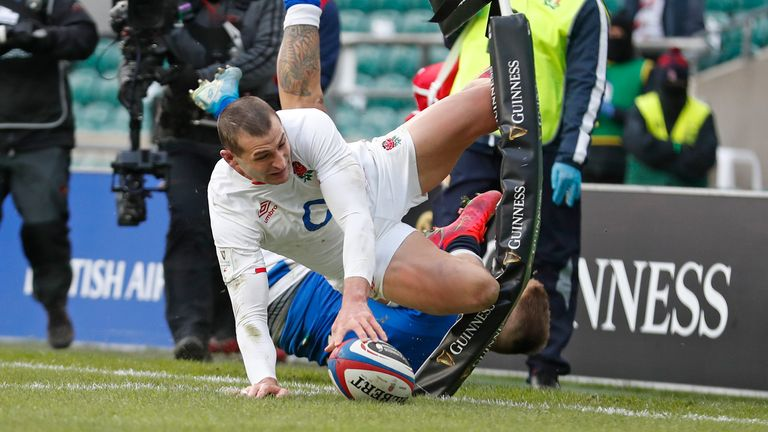 May has been one of the premier try-scorers in world rugby over the last few years
